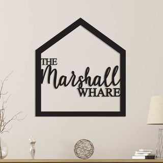 Personalised Indoor or Outdoor Home Sign