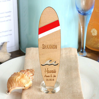Beach Themed Favours - Surfboard