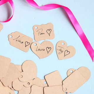 Tag Favours - Kraft Card