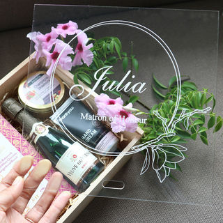 Gift Box - Acrylic Perspex Lid