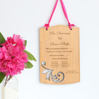 Invitations - Fancy Curls
