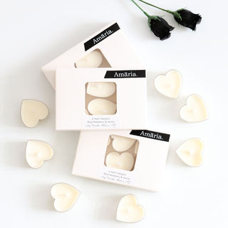 Soy Candles - Heart-Shaped Tealights