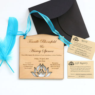 Invitations - Lotus Flower