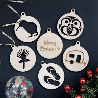 Christmas Bauble Set - Kiwiana