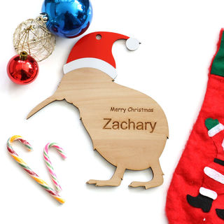 Personalised Christmas Kiwi - Large
