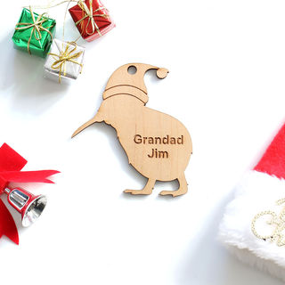 Personalised Christmas Kiwi - Small