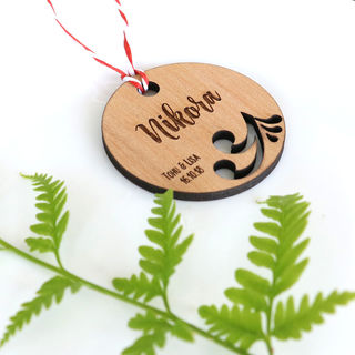 Wedding Favour - Kiwiana Keyring Tags
