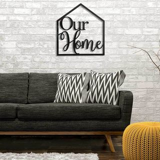 Wall Art - Our Home Sign