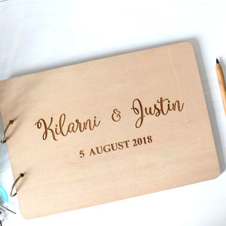 Wedding Guestbook or Photo Album