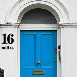 Large House Numbers - Black or White