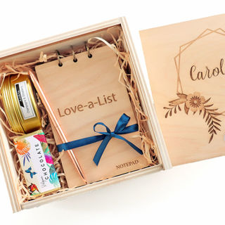 Personalised Wooden Gift Box