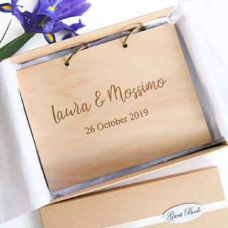 Small Personalised Guest Book or Photo Album
