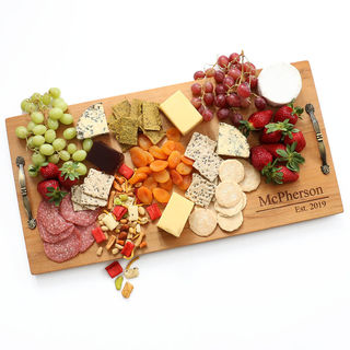 New Zealand Made Grazing Platter - Imported Kauri