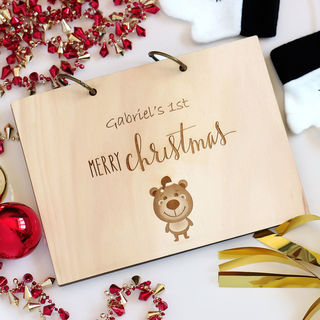 Personalised My Christmas Book Album