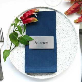 Placecards - Brushed Silver