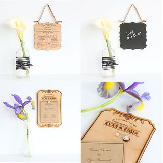 Why Choose Reusable Wooden Wedding Invitations?