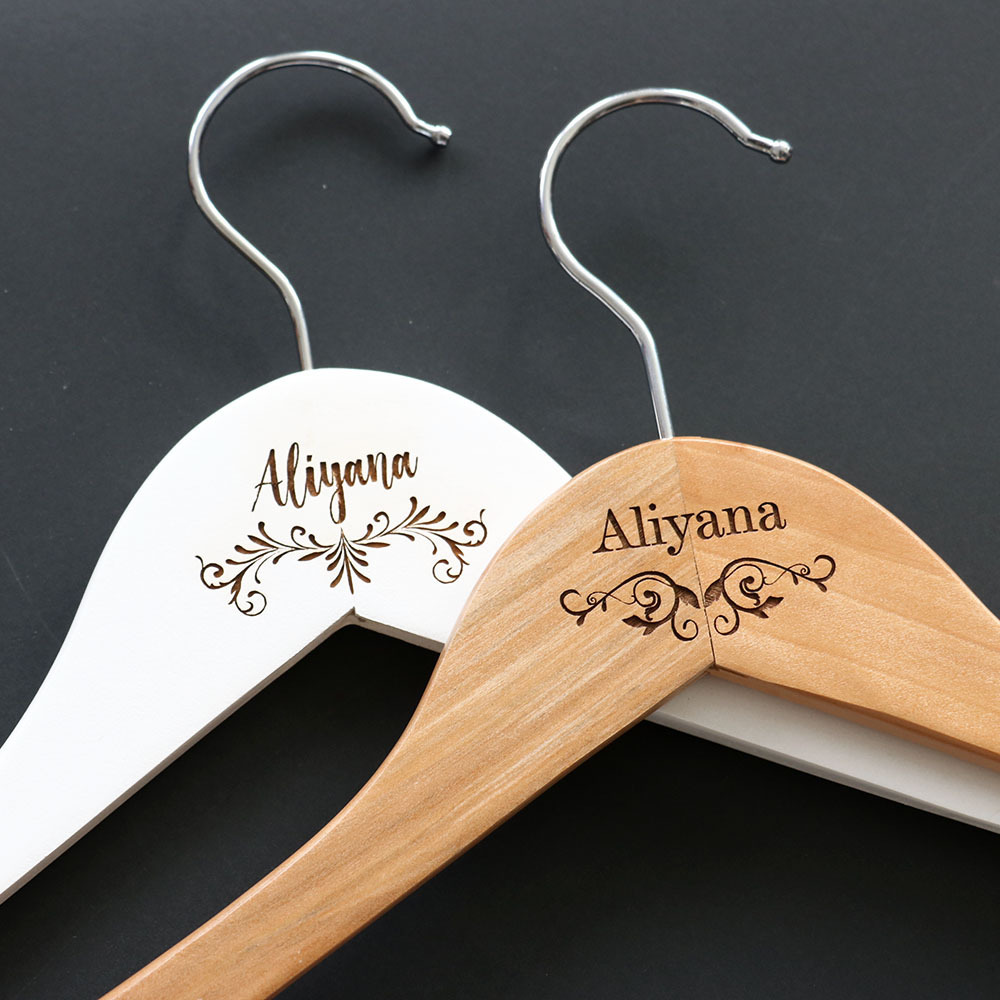 Engraved Hangers - Fancy Lettering & Borders
