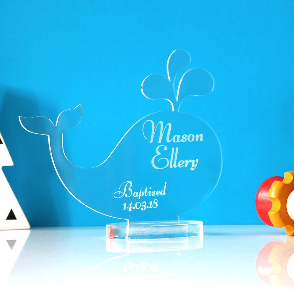 Newborn Baby & Christening Gifts - Whale