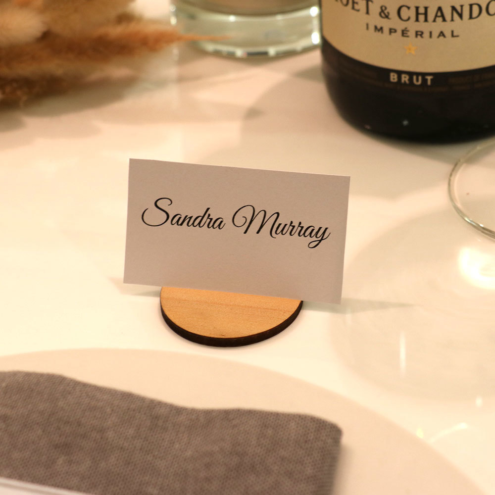 Table Name Card Holders