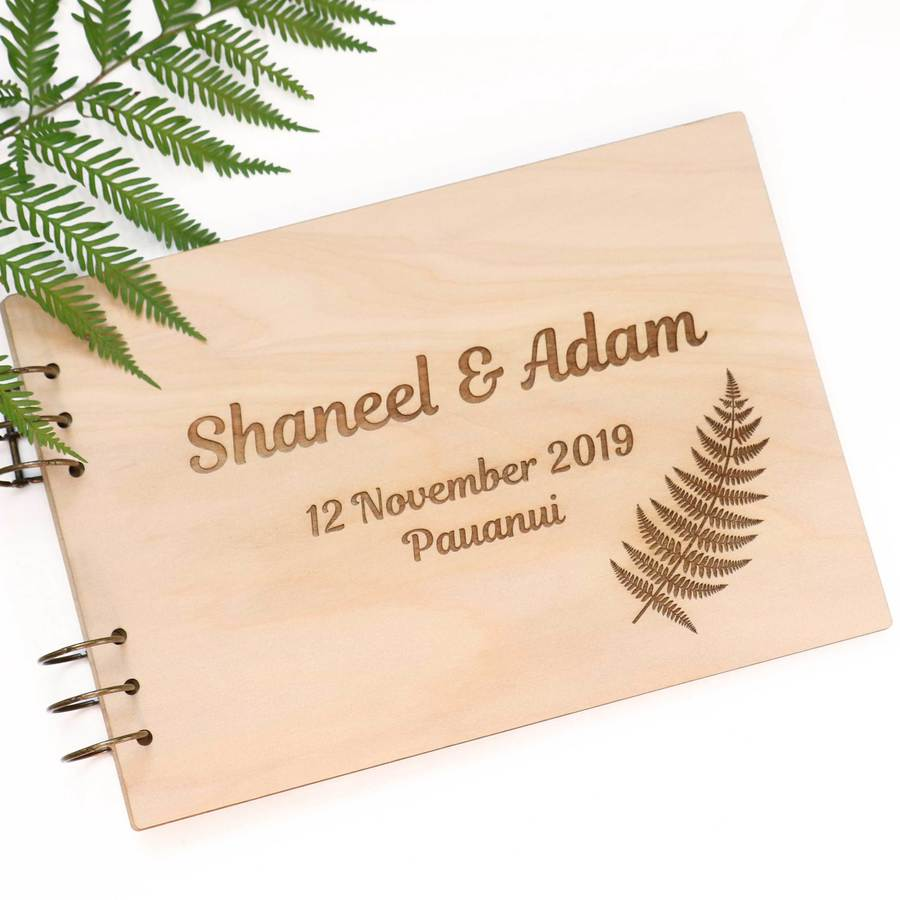 Guest Book - New Zealand Fern