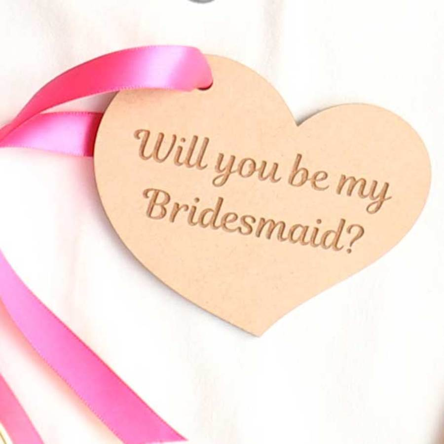 Will you be my Bridesmaid Tag