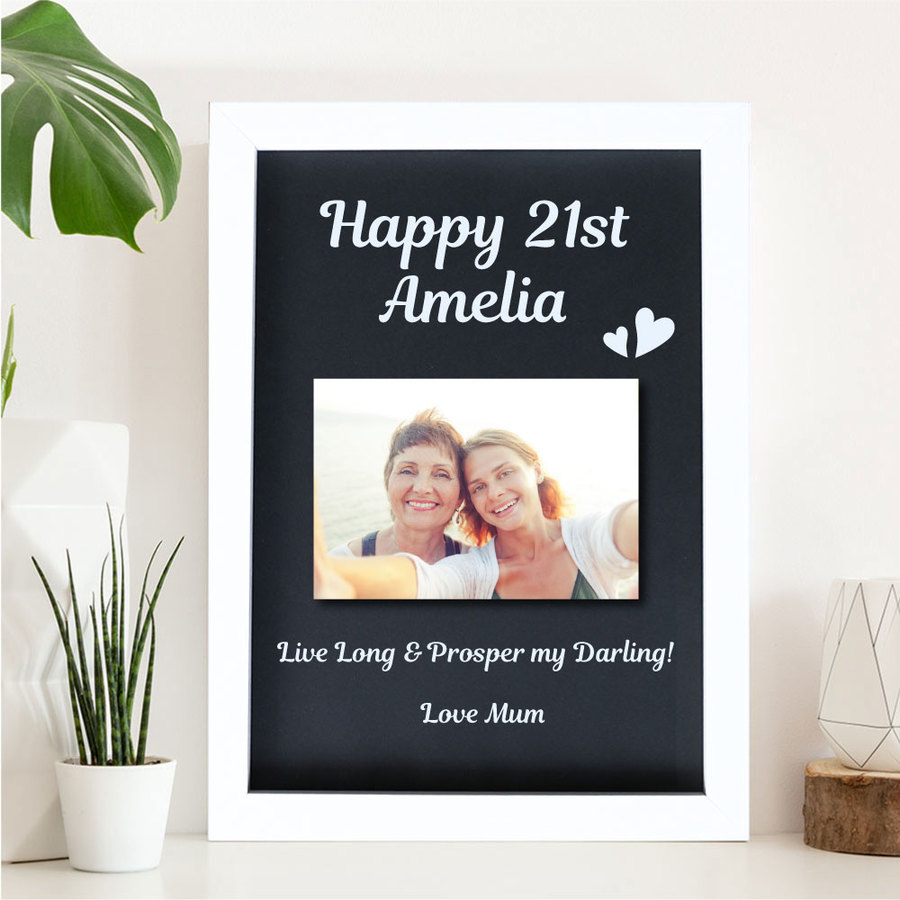 21st Birthday Picture Frame