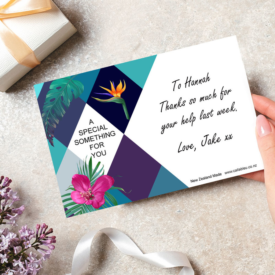 Gift Message Card