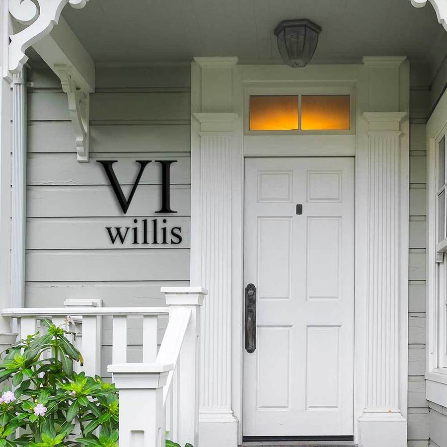 Large House Numbers & Letters - Villa