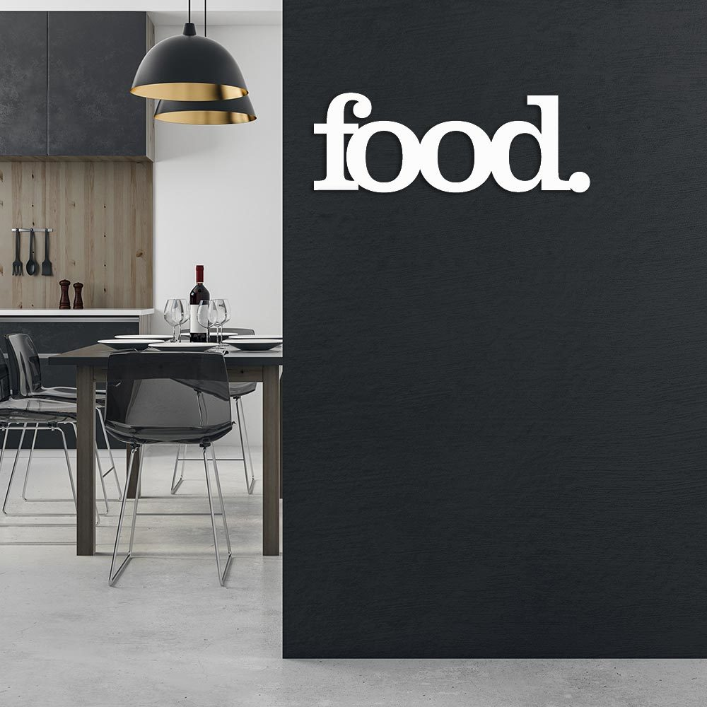 Acrylic Kitchen Wall Art - Food