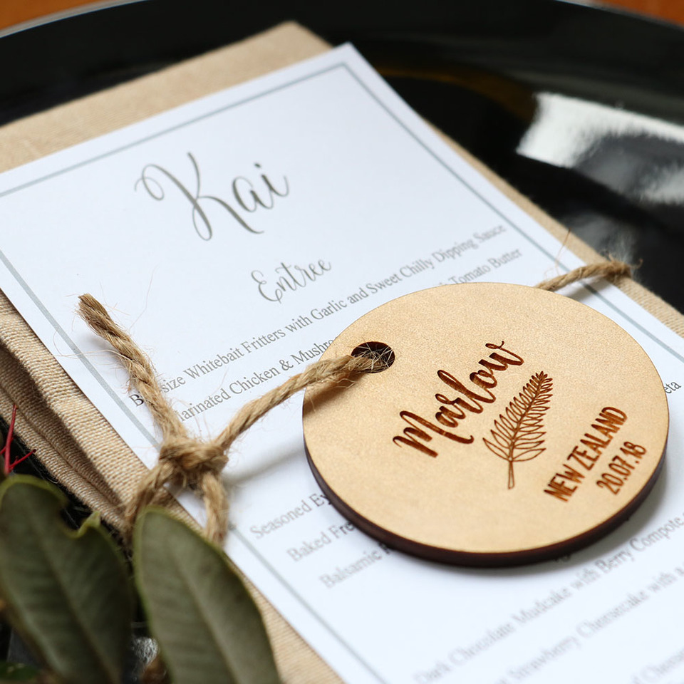 10 Memorable Personalised Favours for your Wedding Reception